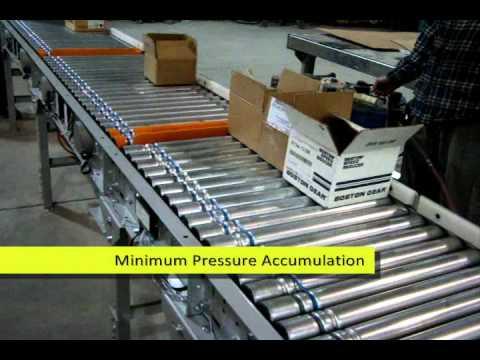 Def roller conveyor