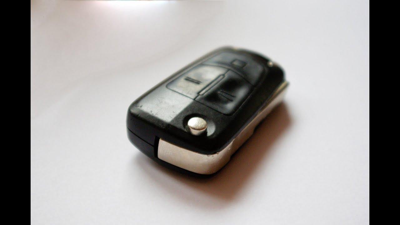 Bardzo dobryFantastyczny Wymiana baterii w kluczyku scyzoryk Opla Opel - YouTube KP02