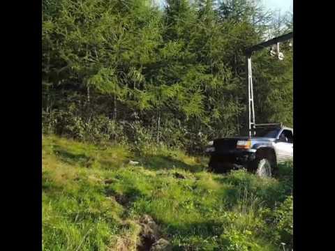 """[HillRoad4x4.pl Beskid Śląski] Jeep Grand Cherooke lift 6"""" Heavy Transport"""