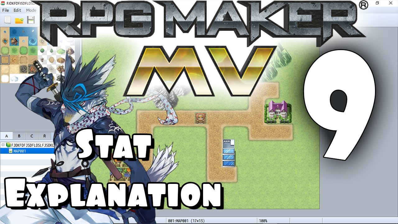 RPG Maker MV Tutorial #9 - Stat Explanation