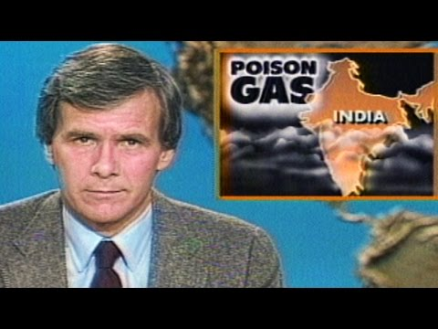 Union Carbide Disaster In Bhopal, India - December 3, 1984
