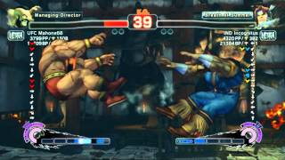 USFIV~ T.Hawk (IND Incognitus) vs.  Zangief (UFC Mahone68) HD