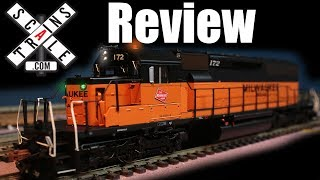 Review ScaleTrains Rivet Counter  SD40-2 !! (Milwaukee Road 172)