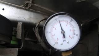 Давление топлива ВАЗ 2110 8кл  новый насос