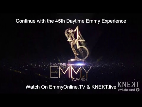 45th Annual Daytime Emmys Red Carpet LIVE