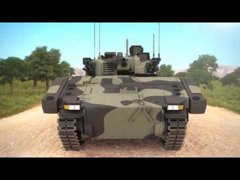 General Dynamics UK   Scout Specialist Vehicle SV Simulation 720p