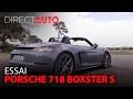 Essai - PORSCHE 718 BOXSTER S : La révolution du Roadster