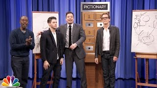 Download Pictionary with Kevin Bacon, Don Cheadle and Nick Jonas Mp3 and Videos
