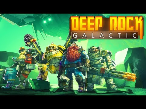 Dwarfs Aliens and GOLD Deep Rock Galactic