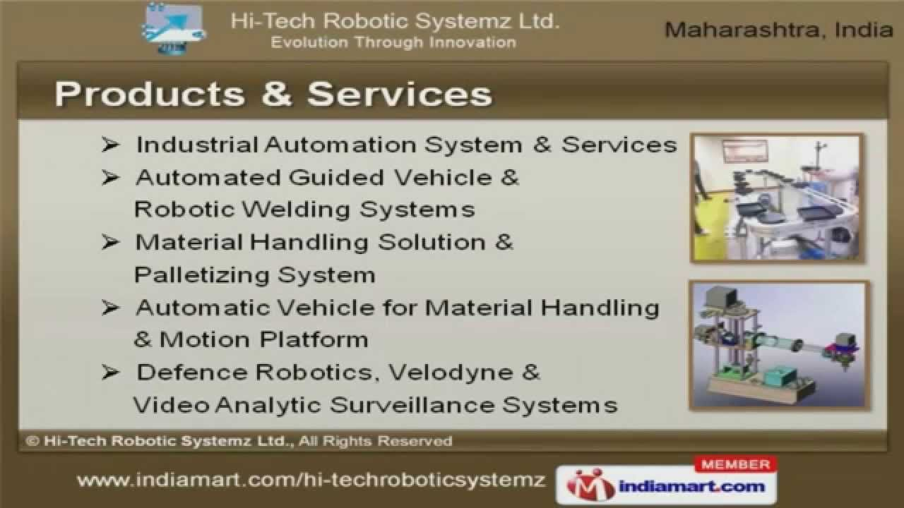 Industrial Automation Engineering Service By Hi Tech Robotic At Electronics Repair Center Inc We Specialize In Systemz Ltd Pune
