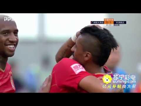 2018 CHA CSL Round 30 Guangzhou Evergrande Taobao FC vs Tianjin Teda