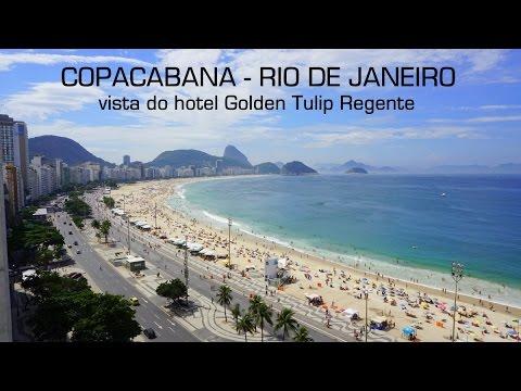Praia de Copacabana, Rio de Janeiro @ Hotel Golden Tulip Regente
