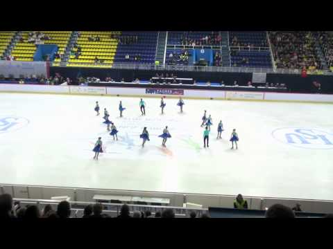 WJSSC 2015 Zagreb - Team Rainbow - South Africa - Free Skating