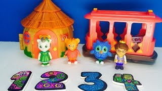 DANIEL TIGER'S Neighbourhood Toys Learning Numbers!