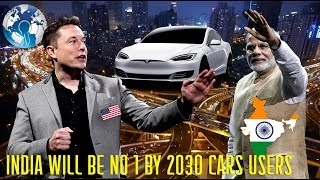 India to be no 1 in electric cars users by 2030 tesla