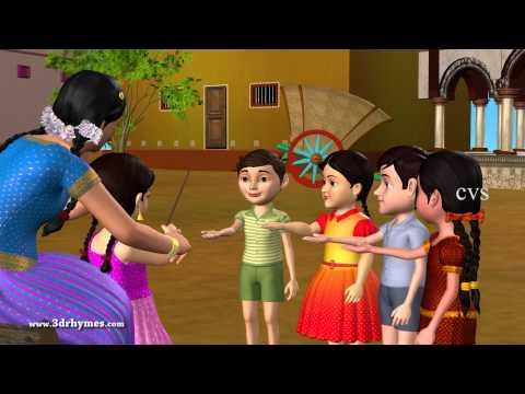 Veeri Veeri Gummadi Pandu - 3D Animation Telugu Rhymes for children
