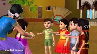 Download Veeri Veeri Gummadi Pandu - 3D Animation Telugu Rhymes for children Mp3 and Videos