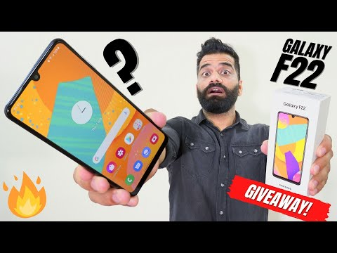 Samsung Galaxy F22 Unboxing & First Look   The New Mid-Range Champion? GIVEAWAY