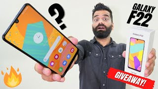 Samsung Galaxy F22 Unboxing & First Look | The New Mid-Range Champion? GIVEAWAY🔥🔥🔥