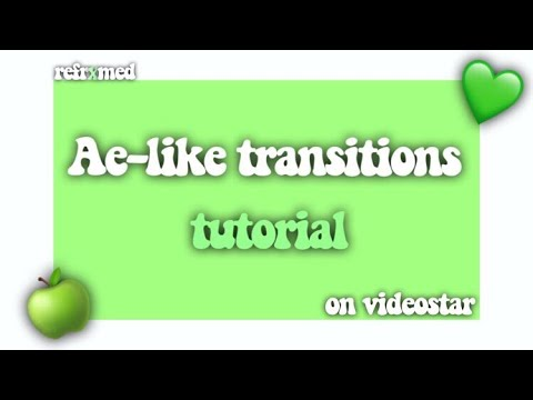 Ae-Like Transitions on Videostar || Refrxmed