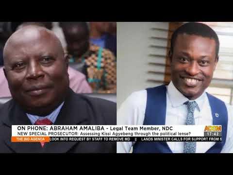 New Special Prosecutor: Assessing Kissi Agyebeng through the political lense (27-4-21)