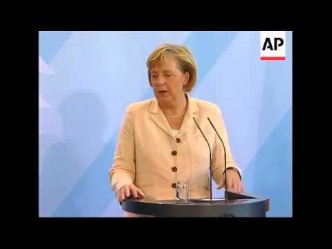 Chinese Premier meets Merkel