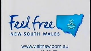 "New South Wales Tourism TV commercial (2002) - ""Feel Free"""