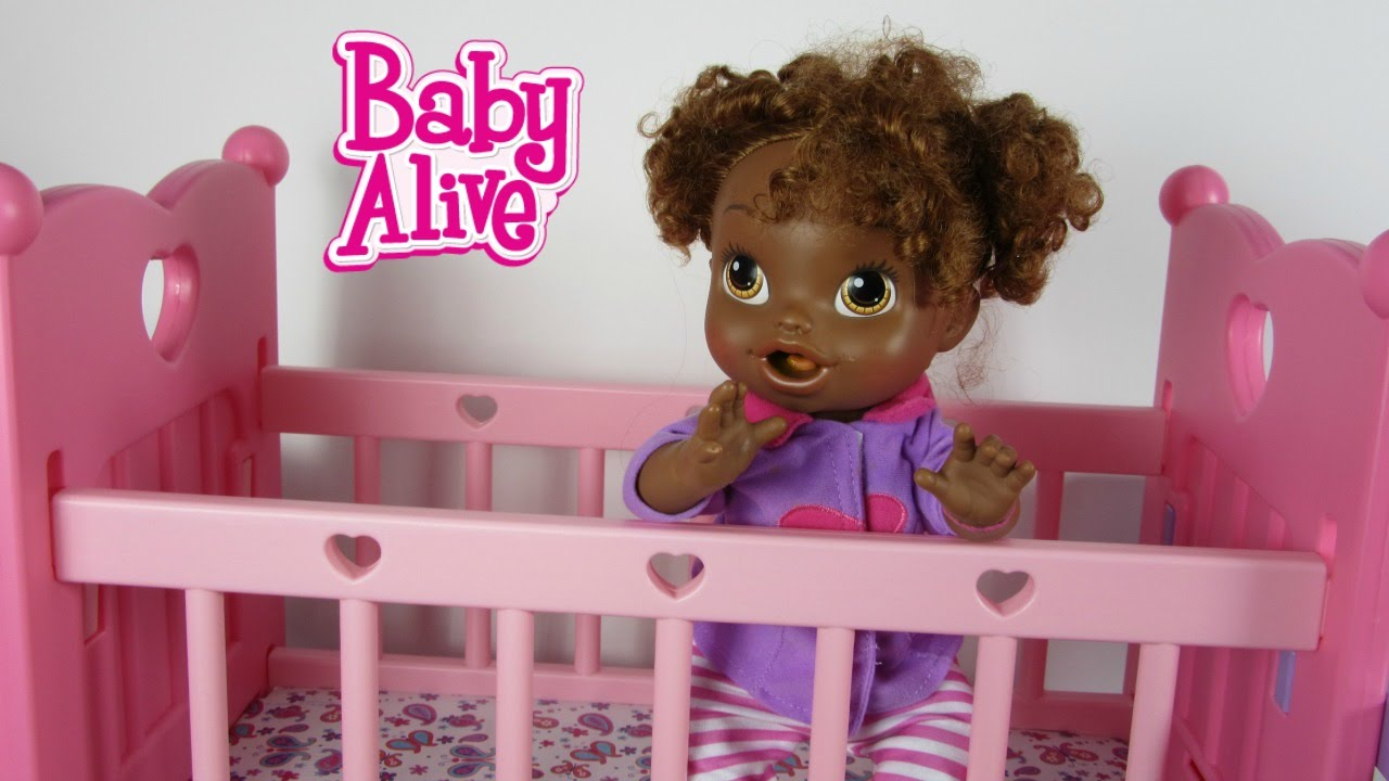 Attrayant Baby Alive Crib All In One Nursery By You U0026 Me Feeding And Changing Video  With My Baby All Gone