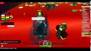 goldendragon507's ROBLOX video: Hacker in Group Recruiting PLAZA[Wall Decal Gamepass]