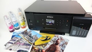 Epson ET 7700 Ecotank REVIEW - Cheap Photos From an Inkjet printer!?