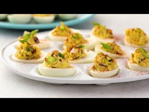How to Make Fully Loaded Deviled Eggs | Appetizer Recipes | Allrecipes.com