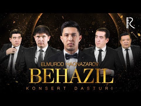 Dizayn a'zosi Elmurod Haqnazarov - Behazil nomli konsert dasturi 2019