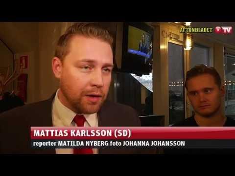 Mattias Karlsson (SD) om KD's flyktingutspel 2014-12-18 ...