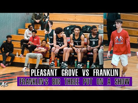 Pleasant Grove Versus Franklin | Marquis Hargrove & Davion Wright Duo Is Deadly! | January 10 2020 |