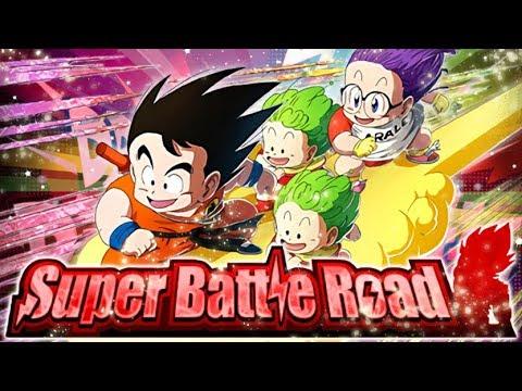 LR KID GOKU & ARALE VS. CATEGORY SUPER BATTLE ROAD! (DBZ: Dokkan Battle)