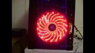 enermax t b vegas duo blue 140mm case fan led