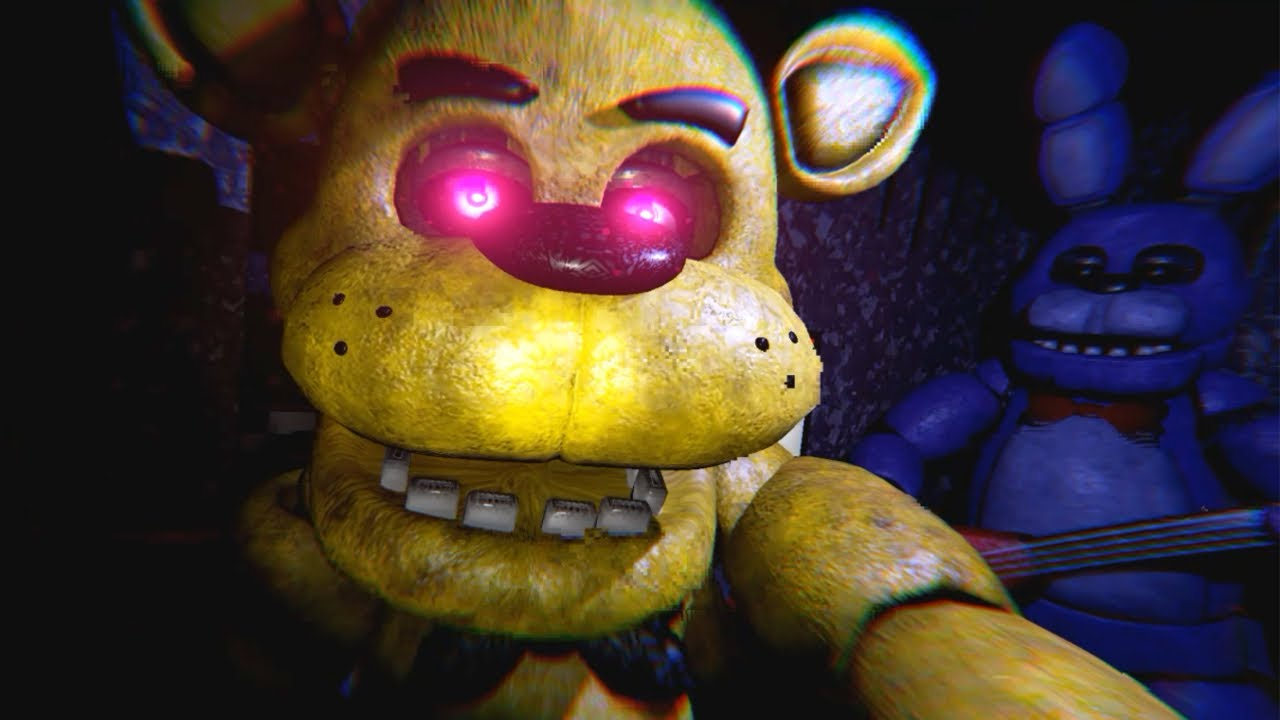 five nights at freddys free roam unreal engine 4