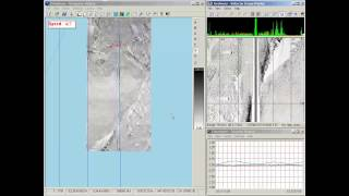 QINSy real time target detection using side scan sonar