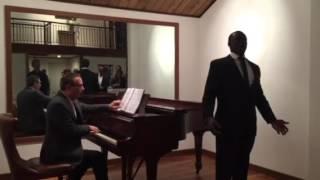 """Nelson Ebo sings """"Kuda, Kuda""""/""""Lenski's Aria"""" from Eugene Onegin"""