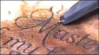 Hand Engraved Penny by Shaun Hughes