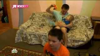 Марина Фролова и Сергей Соболевский в телевизионном проекте «Я худею!»: 6-й выпуск третьего сезона