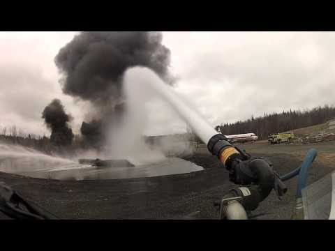 GoPro Firefighting training at Ted Stevens International Airport