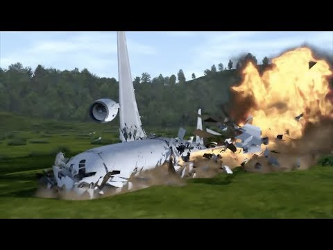 Trying To Survive In A PLANE CRASH Simulator - Prepare For Impact