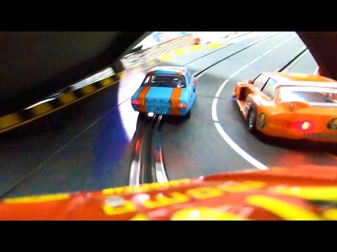 Slotracing   Gruppe 5 Carrera Slot Cars   Jack City Superspeedway   60m Carrerabahn!