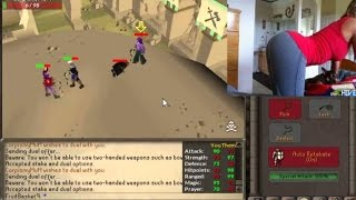 Twitch Girl Streamer Flashes Ass For Runescape Coins