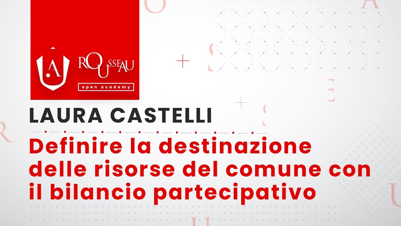 Open Academy Castelli - destinazione delle risorse del comune con il bilancio partecipato