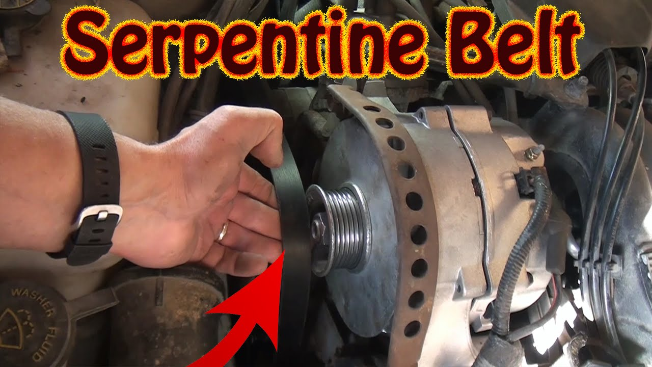 hight resolution of diy how to replace a serpentine belt on a lincoln continental other ford mercury vehicles
