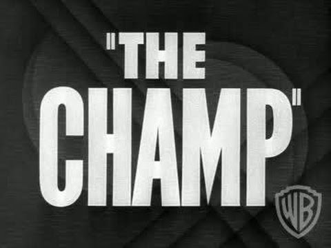 The Champ (1931) - Trailer