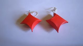 Handmade Jewelry - Paper Gift Box Earrings