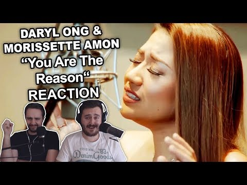 """Daryl Ong & Morissette Amon - You Are The Reason"" Singers Reaction"